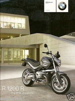Motorcycle Brochure - BMW - R 1200 R - 2008 (DC252)