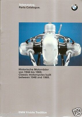 Motorcycle Brochure - BMW - Parts Catalog for Classics 1948 - 1969 (DC239)