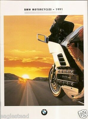 Motorcycle Brochure - BMW - Product Line Overview - 1991 (DC227)