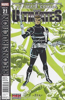 The Ultimate Comics Issue 21 Marvel Modern Age First Print Humphries Eaton Milla