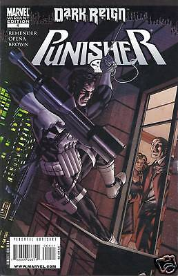 Punisher comic issue 4 variant