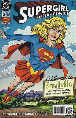 Superman Action Comics issue 706 with Supergirl