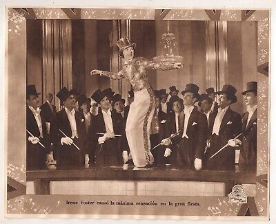 F10475 BROADWAY MELODY OF 1936 ELEANOR POWELL MGM Lobby Card Spain B