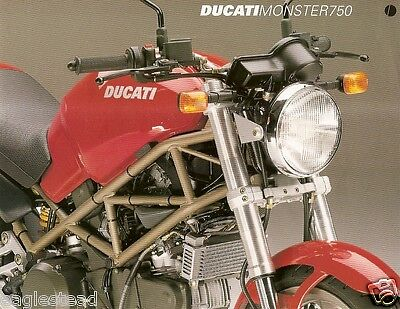 Motorcycle Brochure - Ducati - Monster 750  (DC276)