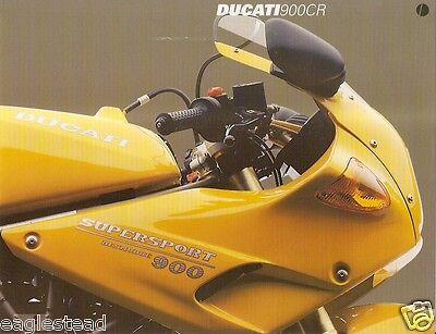 Motorcycle Brochure - Ducati - 900 CR - Supersport (DC268)