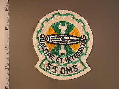 USAF 55th OMS Organizational Maintenance Sq from NS Meyer Library newnever issue