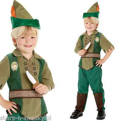 Official Disney Child's Boys Peter Pan Book Day Week Fancy Dress Costume Outfit