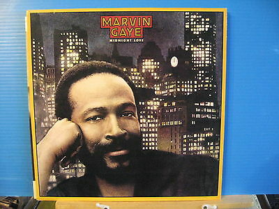 Marvin Gaye - Midnight Love- with insert - free uk post