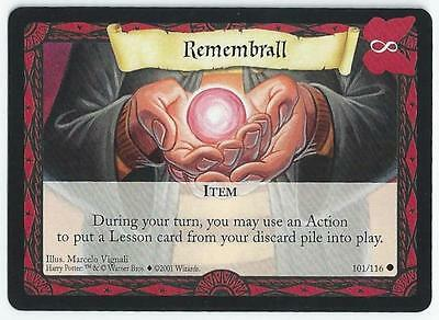 Harry Potter Trading Card Game - Card 101/116 - Remembrall (Adne)