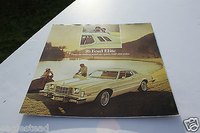 Auto Brochure - Ford - Elite - 1976 (AB427) - OS