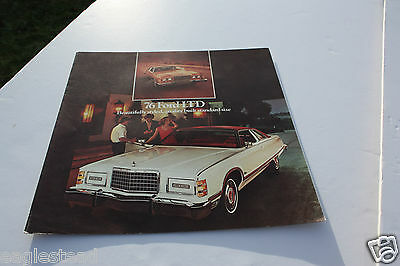 Auto Brochure - Ford - LTD - 1976 (AB429) - OS