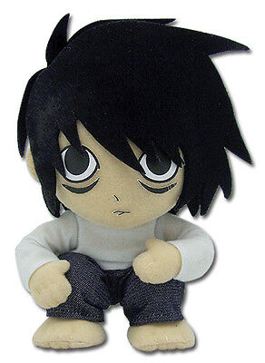 "Plush - Death Note - L 6"" Chibi SD Toys Gifts Soft Doll  Anime ge7051"