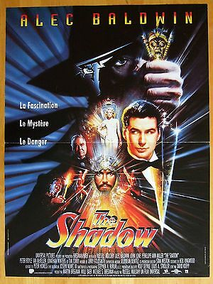 Affiche - The Shadow Alec Baldwin Russel Mulcahy