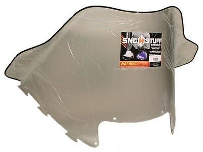 "Arctic Cat EXT 600 Triple Touring, 1998, 18"" Extra Wide Smoke Windshield"
