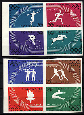 2003b Poland 1960 OLYMPIC GAMES, Rome Imperf MNH