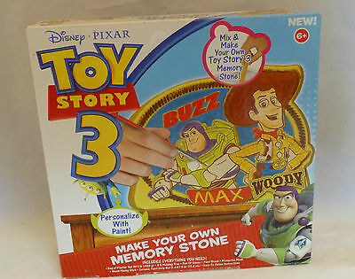 TOY STORY 3 MAKE YOUR OWN MEMORY STONE AGES 6+