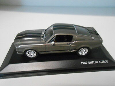 FORD SHELBY GT500 1967 ELEANOR SIGNATURE MODELS 1/43
