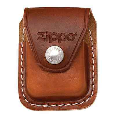 Zippo lpcb brown RARE Lighter pouch clip leather