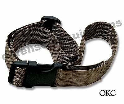 NEW Leg Cargo Strap for USMC OKC3S Bayonet Knife Marine Corps Coyote Brown