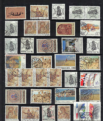 CYPRUS Old QEII STAMP COLLECTION Used REF:F329