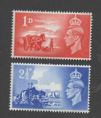 GB 1948 Liberation of Channel Islands SGC1-2 unmounted mint set stamps