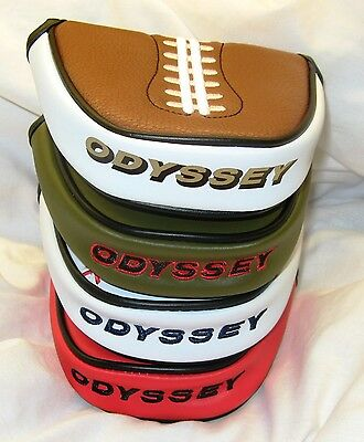 New - Odyssey Golf Mallet Putter Cover - Golf Headcover - 2-Ball - Callaway