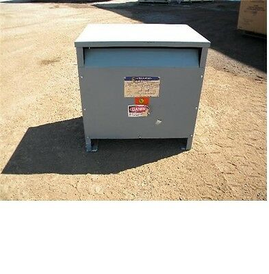Square D D15T6H Insulated Transformer 15 KVA 480/240 volt 3 phase