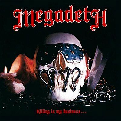 MEGADETH Killing Is My Business..And Business Is Good Vinyl LP 2014 NEW & SEALED