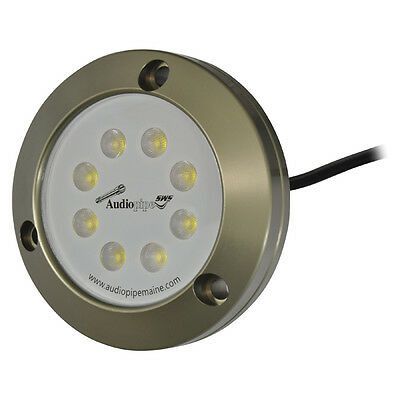 Audiopipe MLDUW1800WH Marine Underwater Led Lights For Boats White
