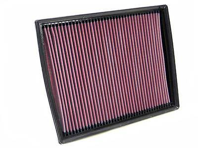 K&N Air Filter Element 33-2787 (Performance Replacement Panel Air Filter)