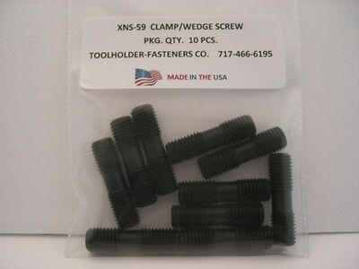 10 Pieces XNS-59 Clamp/Wedge Screw