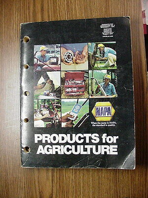 NAPA Products of Agriculture Catalog Dec 1979 368 Pages