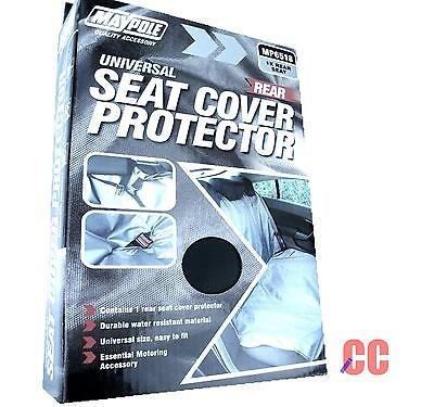 car protective rear back seat cover protector dog pet water resistant MAYPOLE