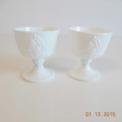 Indiana Colony Harvest Grapes Set Of 2 Sherbets