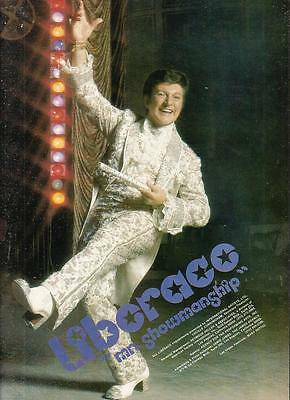 Liberace 1975 Ad- Mr Showmanship