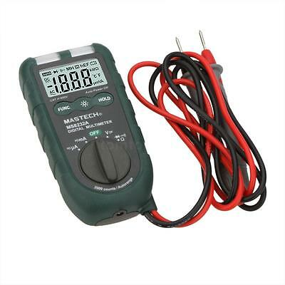 Mastech MS8232A Digital LCD Multimeter Auto Range DMM Diode Continuity NCV Test