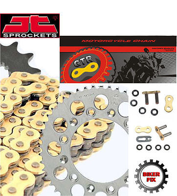 Honda CBR900 RR  N-S Fire Blade 92-95 GOLD X-Ring Chain and Sprocket Set Kit