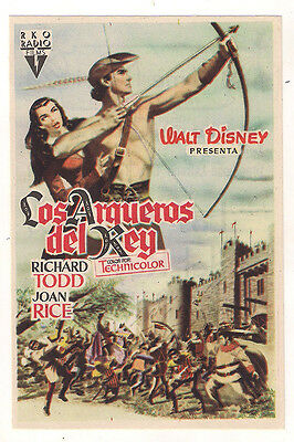 The Story Of Robin Hood And His Merrie Men Richard Todd Sp Herald Mini Poster