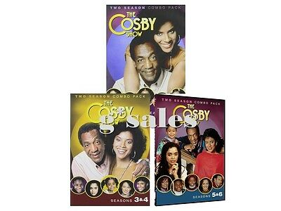The Cosby Show TV Series ~ Complete Season 1-6 (1 2 3 4 5 6) ~ BRAND NEW DVD SET