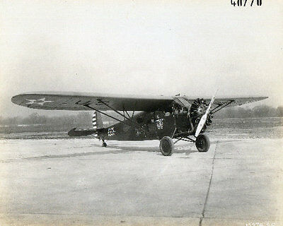 1920-30s MR USAAF Fairchild F-1A  A.C. 31-463 Photographic Plane 8x10 Photo