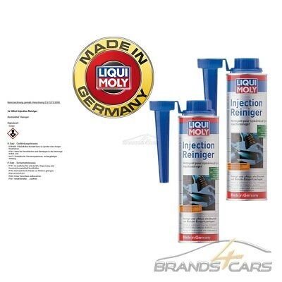 2x 300ml LIQUI MOLY INJECTION REINIGER BENZIN EINSPRITZANLAGE ADDITIV 31567133