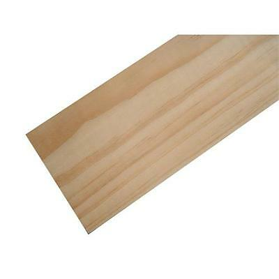American Lime Bass Wood Panels 100mm x 915mm x 6mm - Pack of 5 Sheets BAS44X5