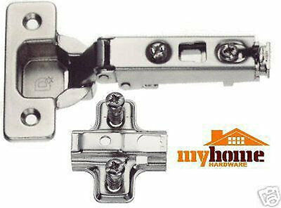 Cabinet Hardware Hinge Euro 1110 Full Overlay Clip On Hinges W/ Mounting Clip