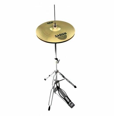 "Sabian 14"" SBR Hi hat Cymbals With Mapex Tornado Drum Hardware Stand"