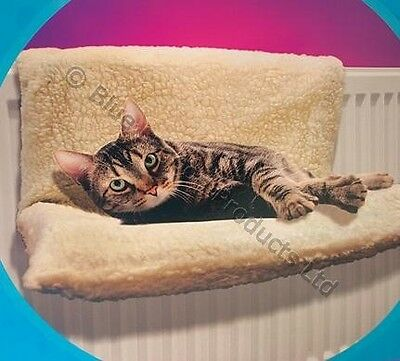Cat Dog Radiator Bed Warm Pet Bed Fleece Basket Cradle Animal Puppy Hammock