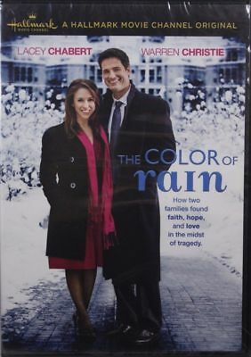The Color of Rain Hallmark Movie Channel Original NEW DVD Starring Lacey Chabert