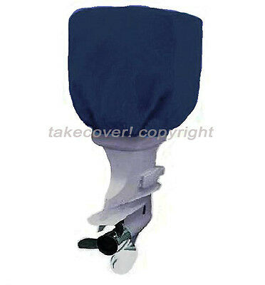 115 - 225 HP Boat Outboard Motor Engine Cover Blue Universal Trailerable N25