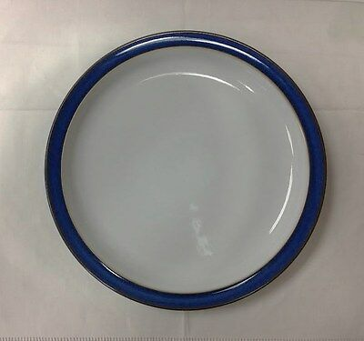 """Denby """"imperial Blue"""" Dinner Plate 10 1/4"""" Stoneware New Made In England"""