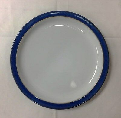 """Denby """"imperial Blue"""" Dessert/salad Plate 8 3/8"""" Stoneware New Made In England"""