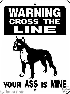 "PITBULL Dog Sign,9""x12"" Aluminum Sign,Pit Bull,Decal,Giard Dog,Security,H826PB"